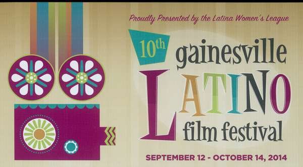Latino Film Festival poster from 2014