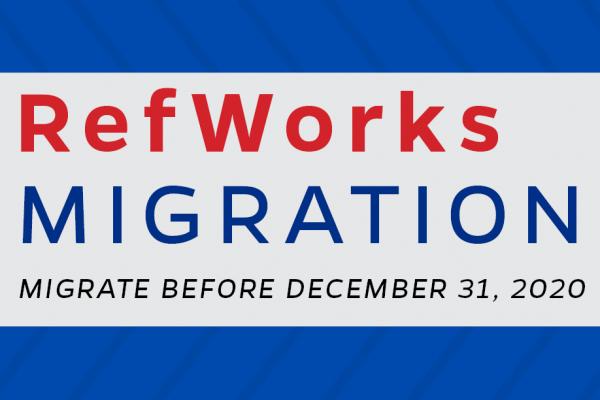 RefWorks Migration
