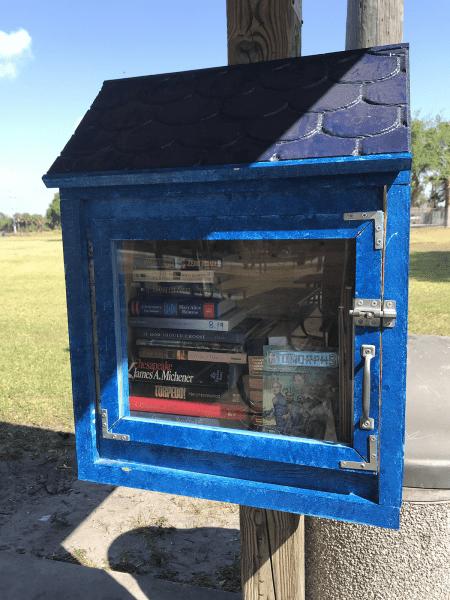 Little Free Library in Okeechobee County