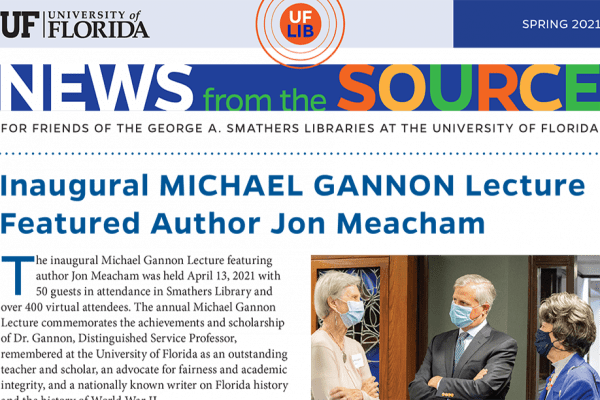 News from the Source spring 2021